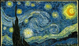 Vincent van gogh il percorso artistico notte stellata for La notte stellata vincent van gogh